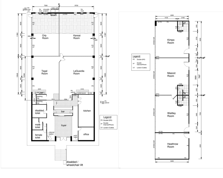 Best Western Airport Motel Conference Floor Plans