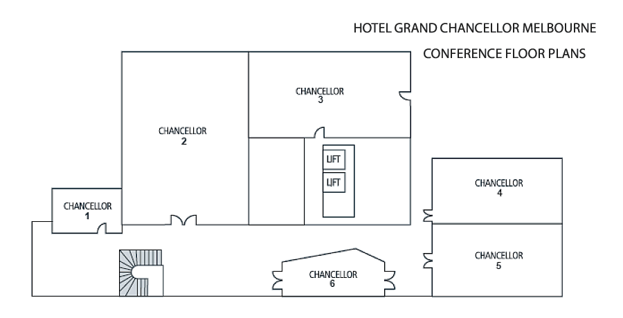 Hotel Grand Chancellor Melbourne Conference Floor Plans