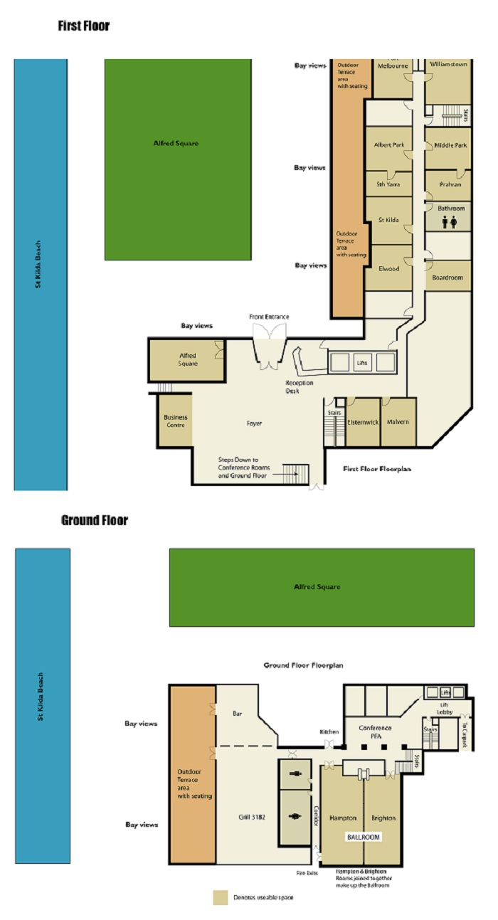 Conference Floor Plans Novotel St Kilda
