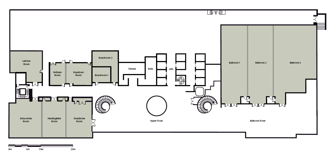 Pullman Melbourne On The Park Conference Floor Plans