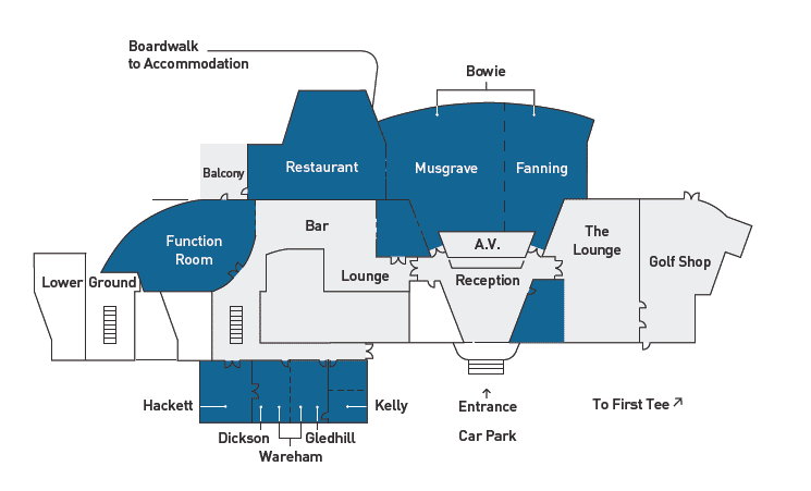 RACV Cape Schanck Resort Conference Floor Plans