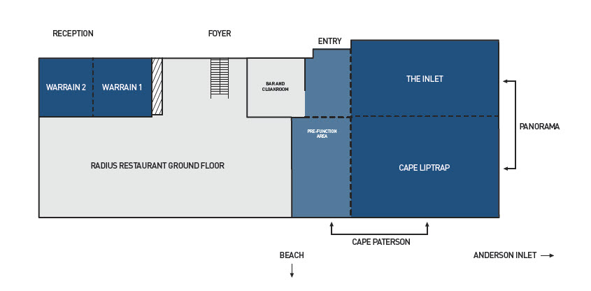 RACV Inverloch Resort Conference Floor Plans