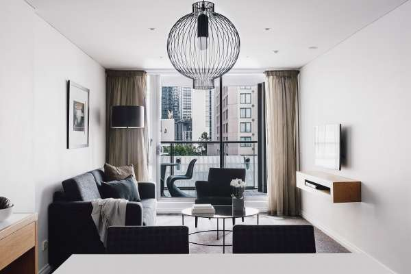 QuayWestMelbourne-1 Bedroom Superior Suite - Southbank View Living Room 1.jpg